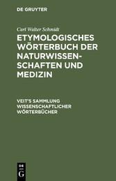 Etymologisches Wörterbuch der Naturwissenschaft...