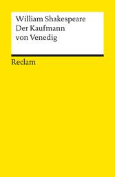 Der Kaufmann von Venedig - Komödie (Reclams Universal-Bibliothek)