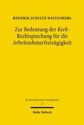 Zur Bedeutung der Keck-Rechtsprechung für die A...