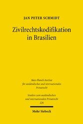 Zivilrechtskodifikation in Brasilien - Struktur...