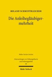 Die Anleihegläubigermehrheit - Eine institution...
