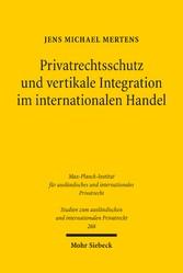 Privatrechtsschutz und vertikale Integration im...