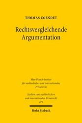 Rechtsvergleichende Argumentation - Phänomenolo...