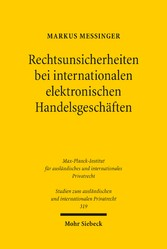 Rechtsunsicherheiten bei internationalen elektr...