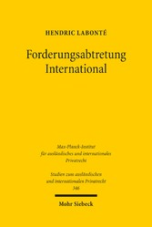 Forderungsabtretung International - Art. 14 Rom...