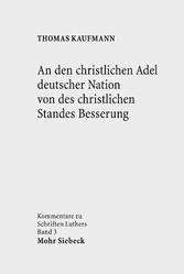 An den christlichen Adel deutscher Nation von d...