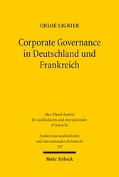 Corporate Governance in Deutschland und Frankreich