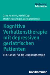 Kognitive Verhaltenstherapie mit depressiven ge...