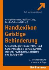 Handlexikon Geistige Behinderung - Schlüsselbeg...