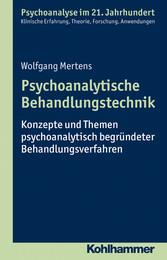 Psychoanalytische Behandlungstechnik - Konzepte...
