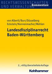 Landesdisziplinarrecht Baden-Württemberg