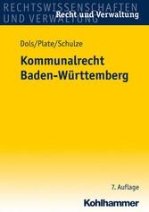 Kommunalrecht Baden-Württemberg