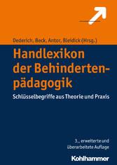 Handlexikon der Behindertenpädagogik - Schlüsse...