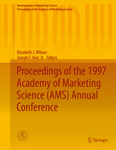 Proceedings of the 1997 Academy of Marketing Science (AMS) Annual bei Ciando - eBooks