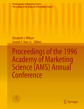 Proceedings of the 1996 Academy of Marketing Science (AMS) Annual bei Ciando - eBooks