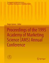 Proceedings of the 1995 Academy of Marketing Science (AMS) Annual bei Ciando - eBooks