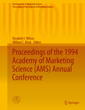 Proceedings of the 1994 Academy of Marketing Science (AMS) Annual bei Ciando - eBooks