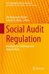 Social Audit Regulation - Development, Challenges and Opportuniti bei Ciando - eBooks
