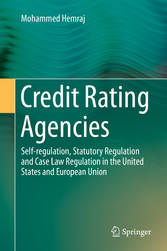 Credit Rating Agencies - Self-regulation, Statu...