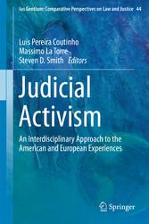 Judicial Activism - An Interdisciplinary Approa...