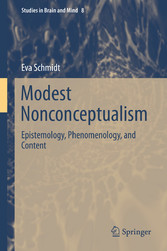Modest Nonconceptualism - Epistemology, Phenome...