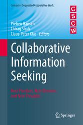 Collaborative Information Seeking - Best Practi...