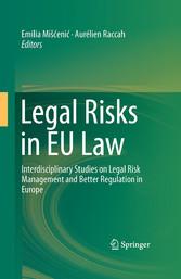 Legal Risks in EU Law - Interdisciplinary Studi...