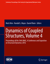 Dynamics of Coupled Structures, Volume 4 - Proc...