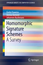 Homomorphic Signature Schemes - A Survey