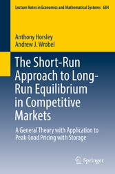 The Short-Run Approach to Long-Run Equilibrium ...
