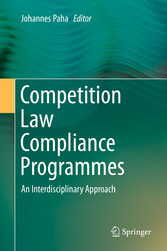 Competition Law Compliance Programmes - An Inte...