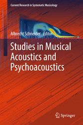 Studies in Musical Acoustics and Psychoacoustics