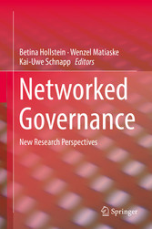 Networked Governance - New Research Perspectives