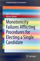 Monotonicity Failures Afflicting Procedures for...