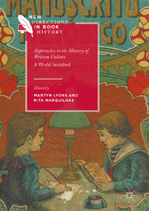 Approaches to the History of Written Culture - ...