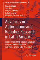 Advances in Automation and Robotics Research in...