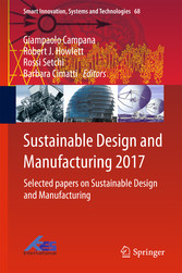 Sustainable Design and Manufacturing 2017 - Sel...