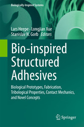 Bio-inspired Structured Adhesives - Biological ...