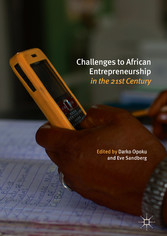 Challenges to African Entrepreneurship in the 2...