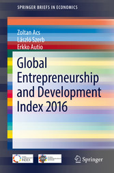 Global Entrepreneurship and Development Index 2016