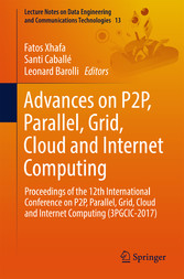 Advances on P2P, Parallel, Grid, Cloud and Inte...