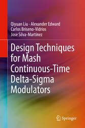 Design Techniques for Mash Continuous-Time Delt...