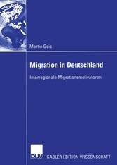 Migration in Deutschland - Interregionale Migra...