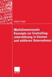 Multidimensionale Konzepte zur Controllingunter...