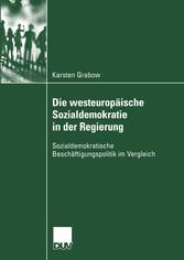 Die westeuropäische Sozialdemokratie in der Reg...