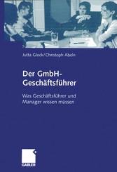 Der GmbH-Geschäftsführer - Was Geschäftsführer ...