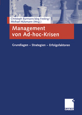 Management von Ad-hoc-Krisen - Grundlagen - Str...
