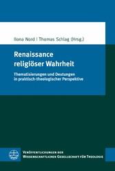 Renaissance religiöser Wahrheit - Thematisierun...
