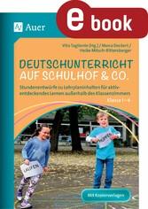 Deutschunterricht auf Schulhof & Co. Klasse 1-4...