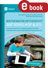 Mathematikunterricht auf Schulhof & Co. Klasse ...